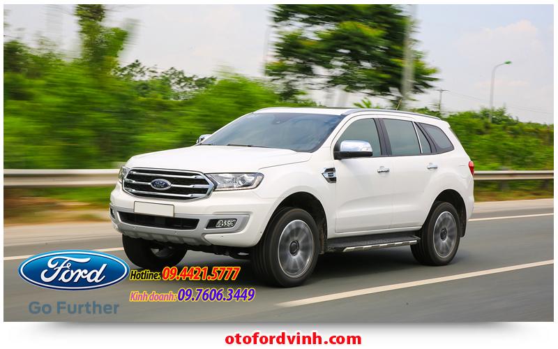 Ford Everest mới tại Vinh, nghệ An; Hà Tỉnh; Quảng Bình