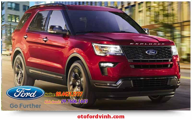 Ford Explorer 2019 tại Vinh, nghệ An; Hà Tỉnh; Quảng Bình
