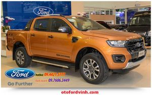 Vua bán tải Ford Ranger mới 2019 tai nghệ An