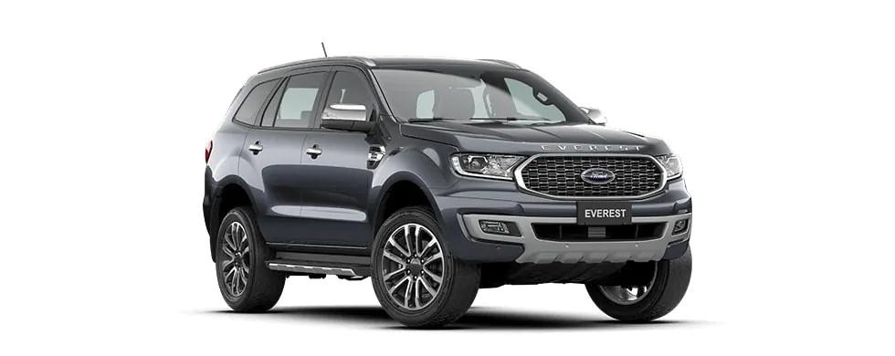 Ford Everest 2021 màu xám tại Hà Tĩnh