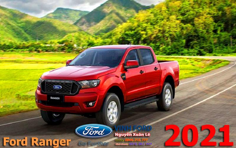 Ford-Ranger-XLS-2.2L-4×2-AT-2021